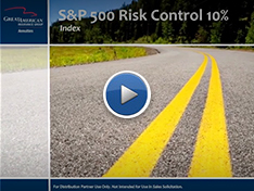 S&P 500 Risk Control 10% Index